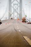 Bay Bridge retrofit and new bridge construction. Labor day bridge closure Thursday August 29, Friday August, 30, 2013. With ACC road crews.