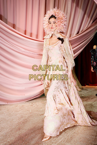 Ulyanna Sergeenko- Paris Haute Couture<br /> Paris Fashion week Haute Couture 2019<br /> Paris, France on July 01, 2019.<br /> CAP/GOL<br /> ©GOL/Capital Pictures