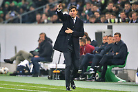 Paulo Fonseca coach AS Roma <br /> Monchengladbach  7-11-2019 Borussia Stadion <br /> Football Europa League 2019/2020 Group J <br /> Borussia Monchengladbach - AS Roma <br /> Photo Gino Mancini / Insidefoto