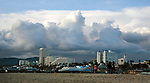 Storm clouds over Santa Monica