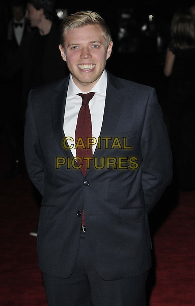 LONDON, ENGLAND - MARCH 12: Rob Beckett  at the British Academy Video Game Awards, Tobacco Dock, Porters Walk, on Wednesday March 12, 2014 in London, England, UK.<br /> CAP/CAN<br /> &copy;Can Nguyen/Capital Pictures