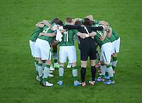 FUSSBALL  EUROPAMEISTERSCHAFT 2012   VORRUNDE Spanien - Irland                     14.06.2012 Spielerkreis Irland