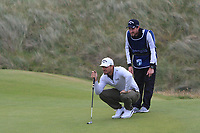 Haydn Porteous (RSA) on the 6th green during Round 2 of the Irish Open at LaHinch Golf Club, LaHinch, Co. Clare on Friday 5th July 2019.<br /> Picture:  Thos Caffrey / Golffile<br /> <br /> All photos usage must carry mandatory copyright credit (© Golffile | Thos Caffrey)
