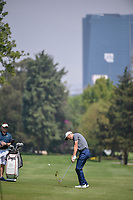 Ross Fisher (ENG) hits his approach shot on 6 during the preview of the World Golf Championships, Mexico, Club De Golf Chapultepec, Mexico City, Mexico. 2/28/2018.<br /> Picture: Golffile | Ken Murray<br /> <br /> <br /> All photo usage must carry mandatory copyright credit (&copy; Golffile | Ken Murray)