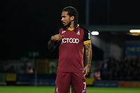 Sean Scannell of Bradford City during AFC Wimbledon vs Bradford City, Sky Bet EFL League 1 Football at the Cherry Red Records Stadium on 2nd October 2018
