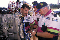Wyatt Nelson Racing:  Wyatt Nelson (L) Daryl Balcom and crew chief Bill Hesson. Altamonte Springs,FL 1998 (SST-120)
