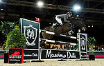 Philipp Weishaupt of Germany riding Carinou in action during the Longines Speed Challenge competition as part of the Longines Hong Kong Masters on 13 February 2015, at the Asia World Expo, outskirts Hong Kong, China. Photo by Victor Fraile / Power Sport Images