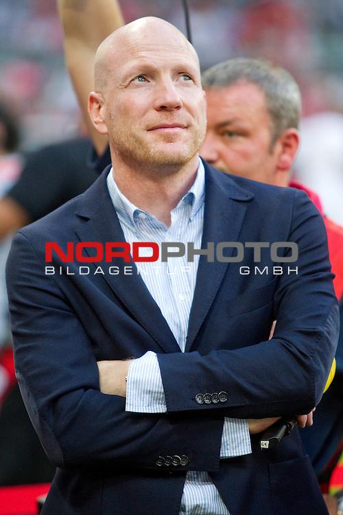 31.07.2013, Allianz Arena, Muenchen, GER, Audi Cup 2013, FC Bayern Muenchen vs FC Sao Paulo, im Bild  Matthias Sammer (Sportvorstand FCB) / Foto © nph / Straubmeier