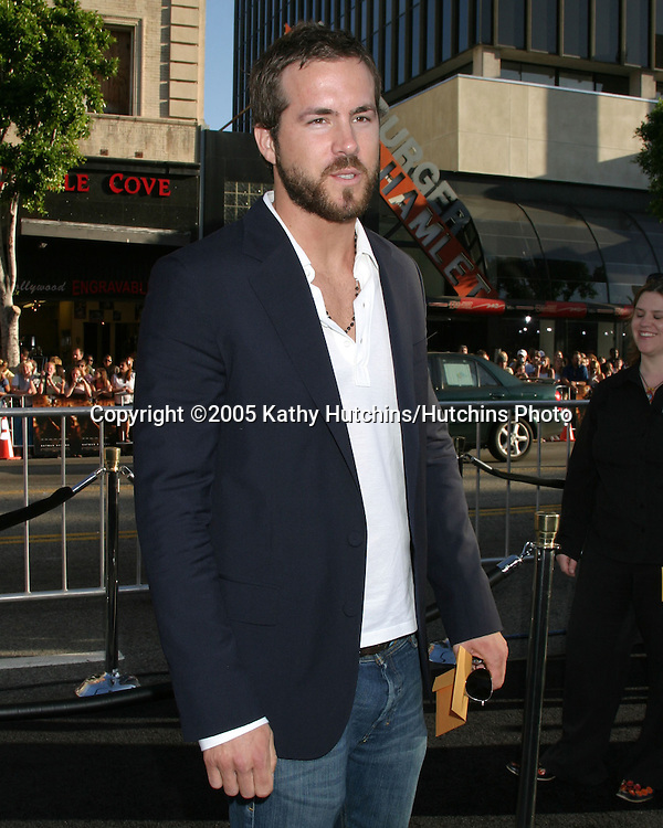 Ryan Reynolds.Premiere of Batman Begins.Grauman's Chinese Theater.Los Angeles, CA.June 6, 2005.©2005 Kathy Hutchins / Hutchins Photo