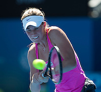 OLIVIA ROGOWSKA..Tennis - Apia Sydney International -  Sydney 2013 -  Olympic Park - Sydney - NSW - Australia. Sunday 6th January  2013. .© AMN Images, 30, Cleveland Street, London, W1T 4JD.Tel - +44 20 7907 6387.mfrey@advantagemedianet.com.www.amnimages.photoshelter.com.www.advantagemedianet.com.www.tennishead.net