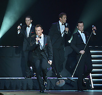 HOLLYWOOD, FL - NOVEMBER 27: Michael Tierney, Andrew Tierney, Toby Allen and Phil Burton of Australian Group Human Nature perform 'Smokey Robinson presents The Motown Show' at Hard Rock Live! in the Seminole Hard Rock Hotel & Casino on November 27, 2012 in Hollywood, Florida. © MPI10/MediaPunch Inc /NortePhoto