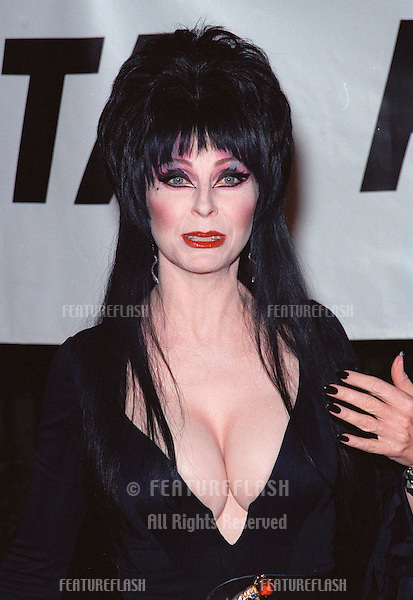 18SEP99: Actress ELVIRA at PETA's Party of the Century, in Los Angeles.     .© Paul Smith / Featureflash