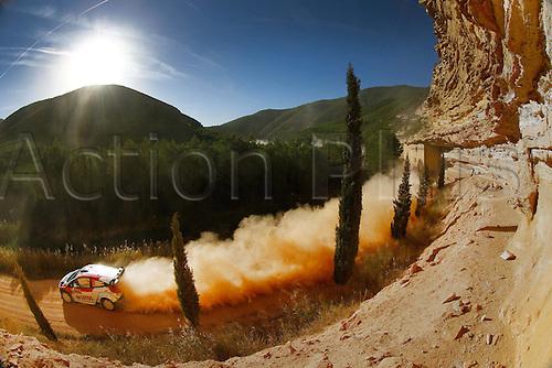 24.10.2014. Catalonia, Spain. WRC Rally of Spain.  Robert Kubica (POL)- SZPA (POL)- Ford Fiesta WRC