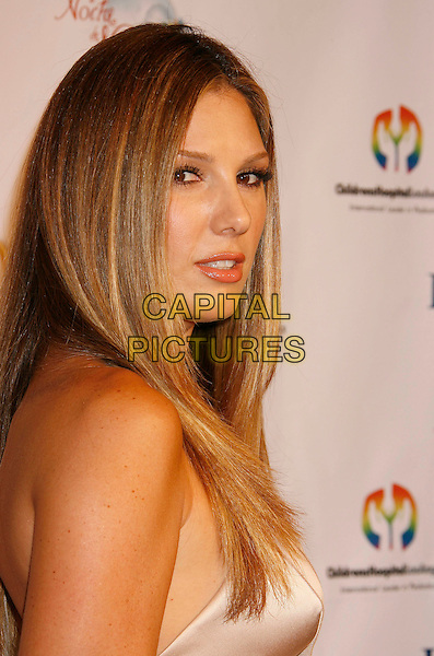 DAISY FUENTES.2nd Annual Noche de Ninos Gala benefiting Children's Hospital Los Angeles held at the Beverly Hilton Hotel, .Beverly Hills, California, USA,.07 October 2006..portrait headshot shoulder.Ref: ADM/RE.www.capitalpictures.com.sales@capitalpictures.com.©Russ Elliot/AdMedia/Capital Pictures.