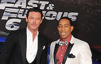 "WWW.BLUESTAR-IMAGES.COM Actor Luke Evans; Chris ""Ludacris"" Bridges arrive at the 'Fast & The Furious 6' - Los Angeles Premiere at Gibson Amphitheatre on May 21, 2013 in Universal City, California..Photo: BlueStar Images/OIC jbm1005  +44 (0)208 445 8588 /©NortePhoto/nortephoto@gmail.com<br />