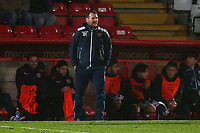 Stevenage manager Darren Sarll during Stevenage vs Brighton & Hove Albion Under-21, Checkatrade Trophy Football at the Lamex Stadium on 7th November 2017