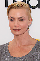 """LOS ANGELES, CA - JANUARY 11: Actress/Model Jaime Pressly arrives at the World Premiere Of Open Road Film's """"The Nut Job"""" held at Regal Cinemas L.A. Live on January 11, 2014 in Los Angeles, California. (Photo by Xavier Collin/Celebrity Monitor)"""