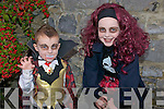 Listowel Halloween Parade : Attending the Annual Listowel halloween Parade on Saturday were in front Luke Connolly & Allagh O'Sullivan from Lixnaw.