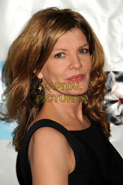 RENE RUSSO .Attending the 38th Annual Peace Over Violence Humanitarian Awards held at The Beverly Hills Hotel, Beverly Hills, California, USA, 6th November 2009..portrait headshot black sleeveless gold earrings hoop .CAP/ADM/BP.©Byron Purvis/AdMedia/Capital Pictures.
