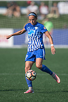 Allston, MA - Saturday August 19, 2017: Amanda Frisbie during a regular season National Women's Soccer League (NWSL) match between the Boston Breakers and the Orlando Pride at Jordan Field.