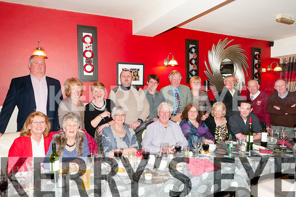 Belated Xmas Party : Members of Listowel Tidy Towns Committee enjoying their belated Xmas party at Eabha Joan's Restaurant, Listowel on Friday night last.