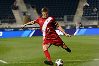 Chester, PA - Friday December 08, 2017: Grant Lillard The Indiana Hoosiers defeated the North Carolina Tar Heels 1-0 during an NCAA Men's College Cup semifinal soccer match at Talen Energy Stadium.