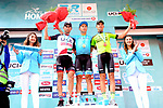 Alexey Lutsenko (KAZ) Astana Pro Team wins Stage 4 of the 54th Presidential Tour of Turkey 2018, with Diego Ulissi (ITA) UAE-Team Emirates in 2nd place and duard Prades (ESP) Euskadi&ndash;Murias 3rd, running 206.9km from Marmaris to Sel&ccedil;uk, Turkey. 12th October 2018.<br /> Picture: Brian Hodes/VeloImages | Cyclefile<br /> <br /> <br /> All photos usage must carry mandatory copyright credit (&copy; Cyclefile | Brian Hodes/VeloImages)