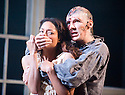 Frankenstein by Nick Dear based on the novel by Mary Shelly directed by Danny Boyle. With Benedict Cumberbatch as The Creature,Naomie Harris as Elizabeth. Opens at The Olivier Theatre at The Royal National Theatre  on  on 22/2/11 . CREDIT Geraint Lewis