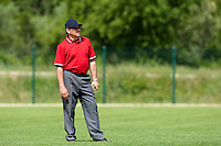 22 May 2009: Umpire Jean-Claude Lopez is seen during the 2009 challenge de France, a tournament with the best French baseball teams - all eight elite league clubs - to determine a spot in the European Cup next year, at Montpellier, France. Senart wins 7-1 over Montpellier.