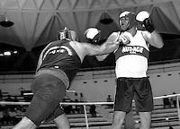 Roma  17 Maggio 1998.Incontro  di boxe dilettanti Campionato regionale.Duca (a. S. Audace ) vs  Micero (Fiumicino)