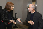 "Gloria Steinem and Bob Balaban attends the Opening Night Performance of ""Gloria: A Life"" on October 18, 2018 at the Daryl Roth Theatre in New York City."