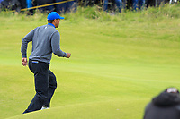 Tiger Woods (USA) during 1st round of the 148th Open Championship, Royal Portrush golf club, Portrush, Antrim, Northern Ireland. 18/07/2019.<br /> Picture Thos Caffrey / Golffile.ie<br /> <br /> All photo usage must carry mandatory copyright credit (© Golffile | Thos Caffrey)