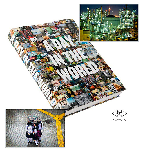 """My images used in the book released by """"A day in the World"""" Project."""