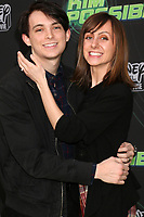 """LOS ANGELES - FEB 12:  Dylan Riley Snyder, Allisyn Ashley Arm at the """"Kim Possible"""" Premiere Screening at the TV Academy on February 12, 2019 in Los Angeles, CA"""