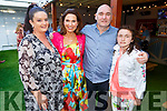 Marisa Reidy, Majella, Molly and Conor Duignan supporting the Recovery Haven BBQ in Benners Hotel on Saturday