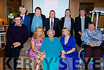 Mary O&rsquo;Brien celebrating her 90th birthday in Ballygarry on Saturday night.<br /> Seated l-r, Brendan O&rsquo;Brien, Maureen Fleming, Mary O&rsquo;Brien, Julie O&rsquo;Sullivan and Terry O&rsquo;Brien.<br /> Back l-r, Tom, Michael, Tim, Paudie and Dermot O&rsquo;Brien.
