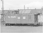 Long caboose #0503 in Alamosa yard.<br /> D&amp;RGW  Alamosa, CO  Taken by Payne, Andy M. - 6/8/1969