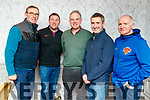 Pictured at the Chain gang AGM at the Meadowlands on Friday night, from left: Denis O'Sullivan, Brendan O'Connor, Ger O'Halloran, Cathal Foley and Aidan Hobbert.