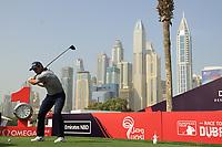 Adri Arnaus (ESP) during the third round of the Omega Dubai Desert Classic, Emirates Golf Club, Dubai, UAE. 26/01/2019<br /> Picture: Golffile | Phil Inglis<br /> <br /> <br /> All photo usage must carry mandatory copyright credit (© Golffile | Phil Inglis)