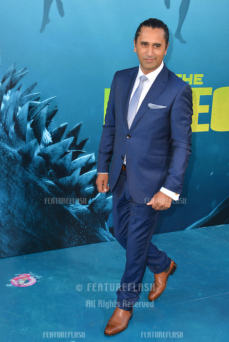 "LOS ANGELES, CA - August 06, 2018: Cliff Curtis at the US premiere of ""The Meg"" at the TCL Chinese Theatre"