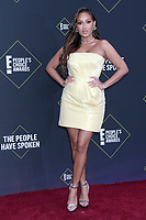 LOS ANGELES - NOV 10:  Adrienne Houghton at the 2019 People's Choice Awards at Barker Hanger on November 10, 2019 in Santa Monica, CA