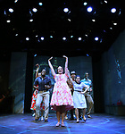 Melissa Errico and cast during a Sneak Peak of the Irish Repertory Theatre Production of  'On A Clear Day You Can See Forever'  at the Irish Repertory Theatre on June 14, 2018 in New York City.