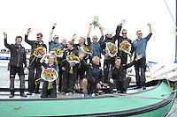 ZEILEN: SNEEK: Snitser Mar, 12-08-2016, SKS skûtsjesilen, SKS kampioen 2016, Sneek, De Sneker Pan, ©foto Martin de Jong