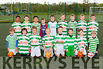 The Killarney Celtic u9 team at Celtic Park on saturday front row l-r: Cian Forde, Luke O'Leary, darragh Murphy, matthew Moynihan, Bryan Flaherty, Mickey Murphy, Jason O'Sullivan, Michael O'Doherty. Back row: MD Maamenyasin, Jake Ryan, Nattagan Ryan, Jack Kelliher, Shane O'Sullivan, Josh Bowler, Cian Russell, Peter O'Doherty, Hugh Dorrian