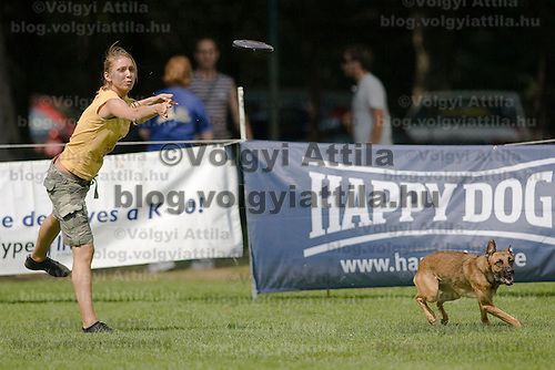 Flydogs frisbee European Championships and World Championship qualifier competition held in  Budapest, Hungary. Saturday, 22. August 2009. ATTILA VOLGYI