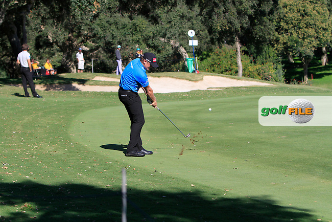 Jamie Donaldson (WAL) during the 2nd day at the  Andalucía Masters at Club de Golf Valderrama, Sotogrande, Spain. .Picture Denise Cleary www.golffile.ie