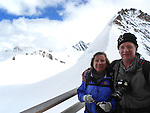 John and Beth in the Alps above Lauterbrunnen, Switzerland.