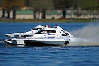 "Bobby Kennedy, E-35 ""TM Special"" (5 Litre class hydroplane(s) and Tom Vielhauer, H-11 (H350 Hydro)"