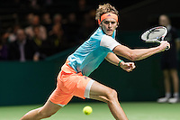 ABN AMRO World Tennis Tournament, Rotterdam, The Netherlands, 15 Februari, 2017, Alexander Zverev (GER)<br /> Photo: Henk Koster