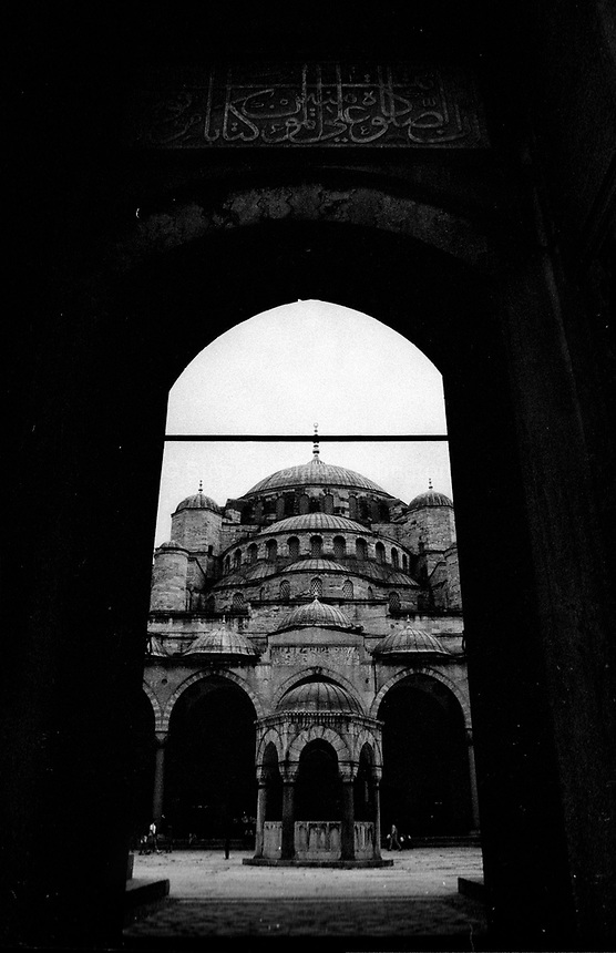 Istanbul, Turkey, Blue Mosque, Asia, Europe